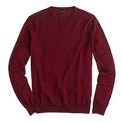Slim merino wool crewneck sweater