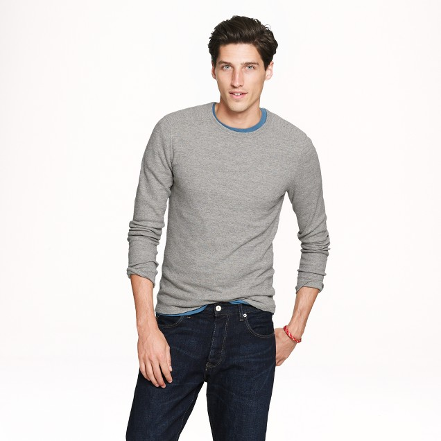 Slim long-sleeve thermal tee