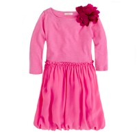 Girls' posy dress