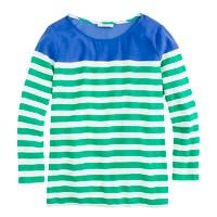 Top in colorblock stripe