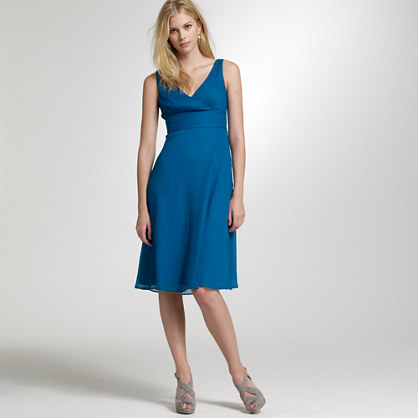 Sophia dress in silk chiffon