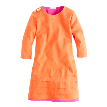 Girls' tiered dress