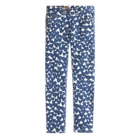 Girls' toothpick jean in amore print