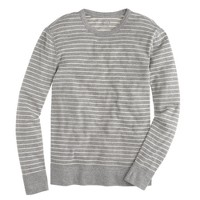 Crossknit long-sleeve tee in Driggs stripe