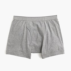 Knit boxer briefs