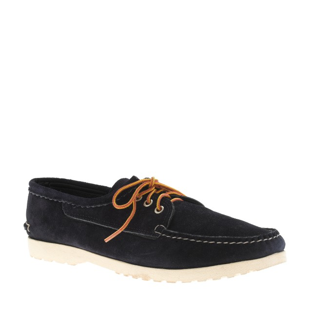 Quoddy® for J.Crew suede bluchers with Vibram® sole