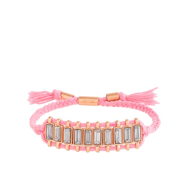 Girls' jeweled friendship bracelet