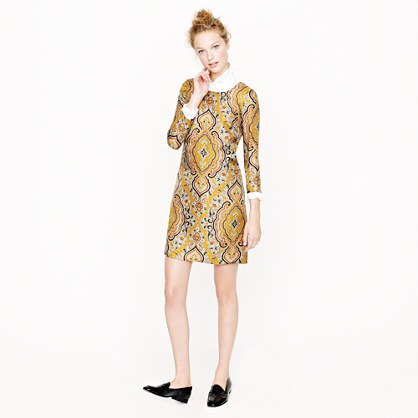 Jules dress in Italian paisley