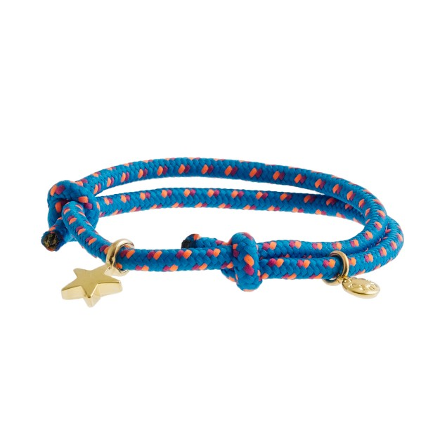 Girls' star charm friendship bracelet