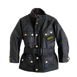 Boys' Barbour® International jacket in larger sizes