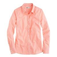 Perfect shirt in open check Thomas Mason® fabric
