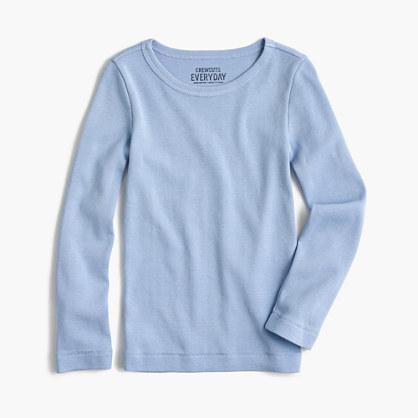 Girls' long-sleeve city T-shirt