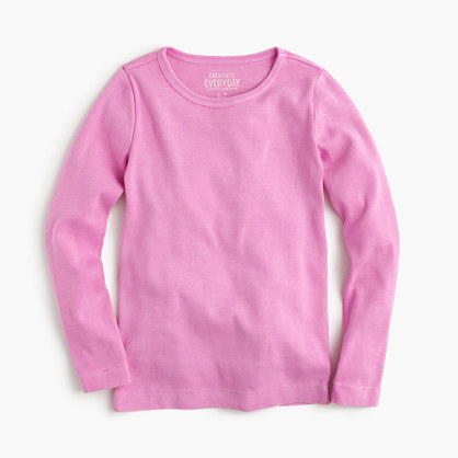 Girls' long-sleeve city T-shirt