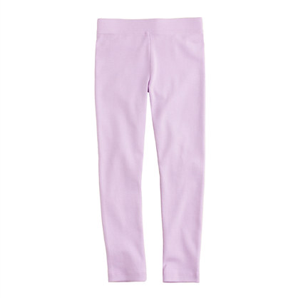 Girls' ribbed city tee leggings