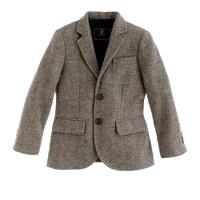 Boys' Ludlow sportcoat in oatmeal herringbone