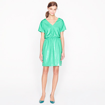 Collection emerald sequin dress
