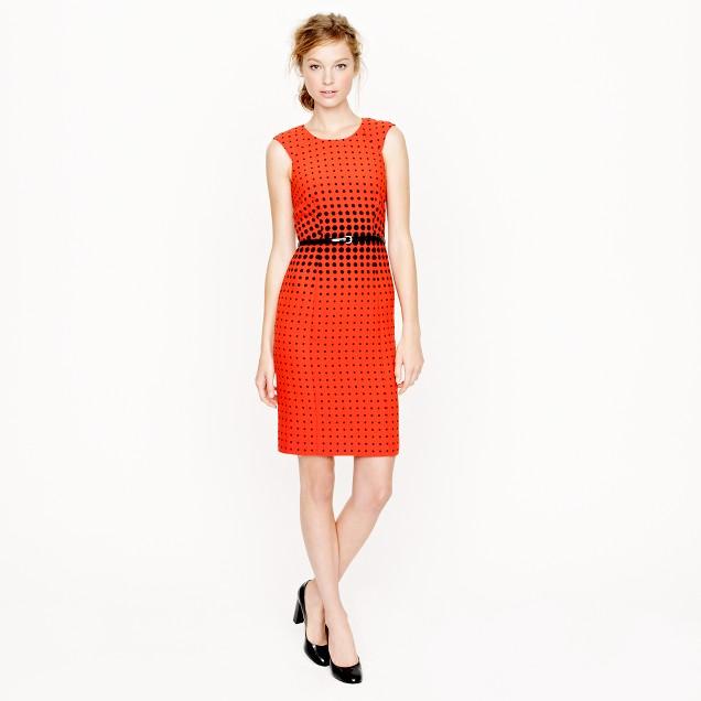 Optic-dot dress