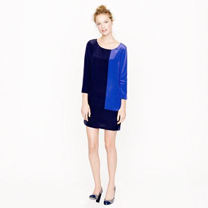 Jules dress in colorblock