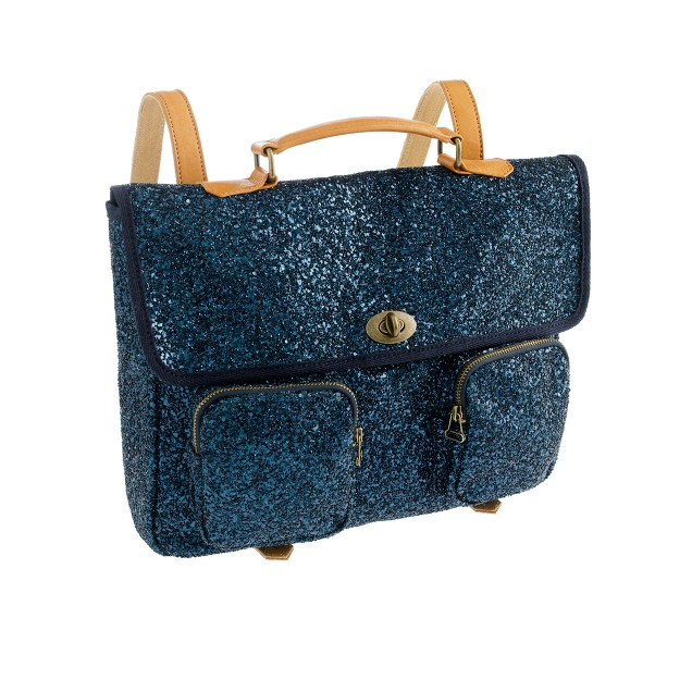 Girls' glitter backpack : Girl Backpacks & school supplies | J.Crew