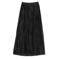 Collection pleated maxiskirt
