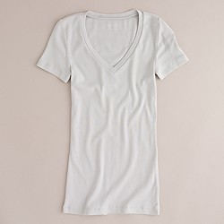 Perfect-fit V-neck T-shirt