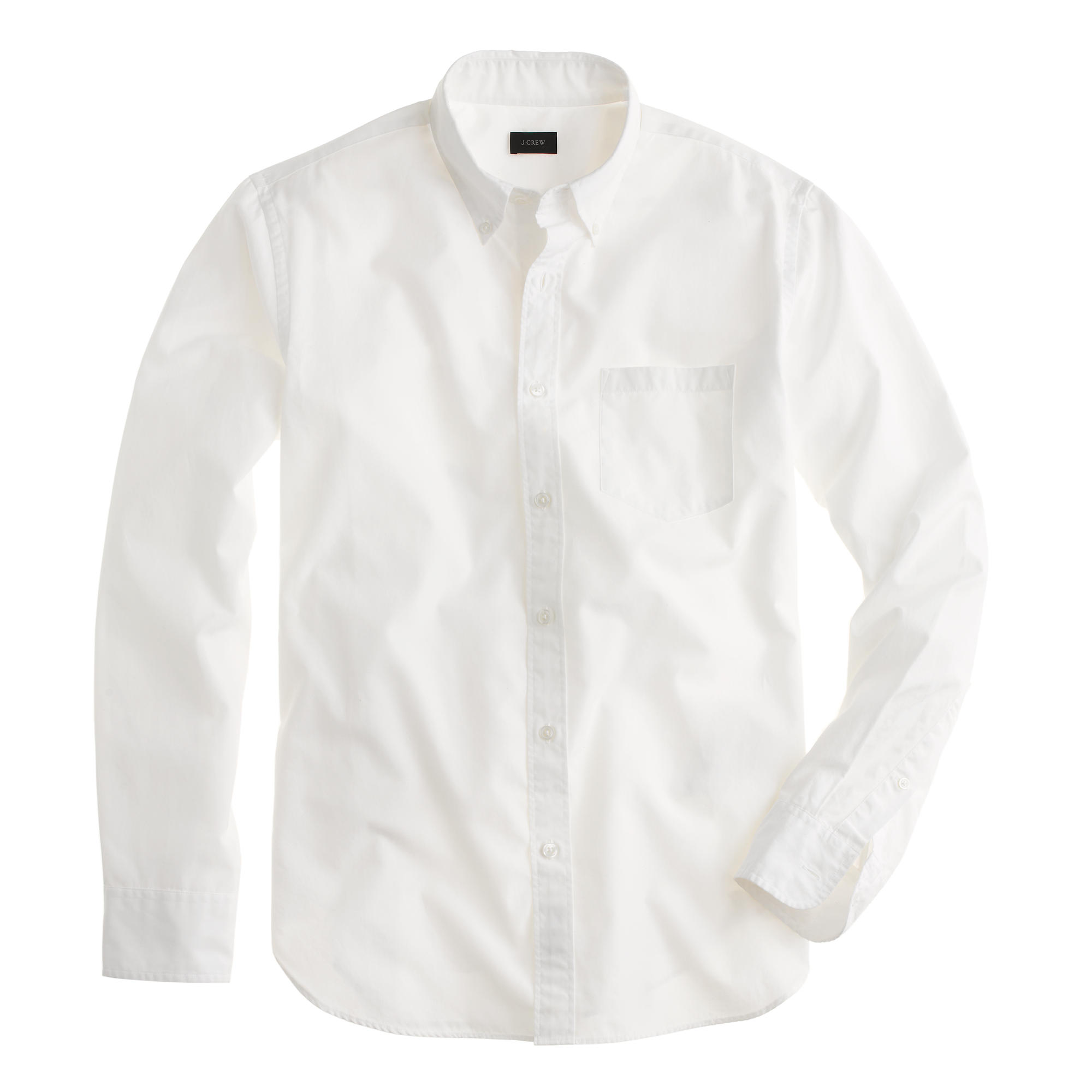 Mens White Shirt Black Buttons | Is Shirt
