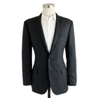 Ludlow suit jacket in nailhead Italian wool