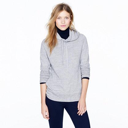 Lightweight fleece hoodie