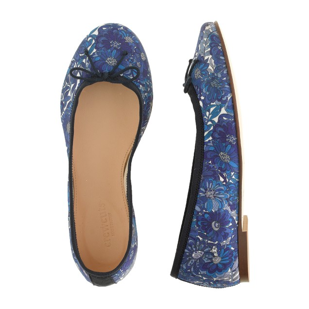 Girls' Liberty classic ballet flats in Tresco floral