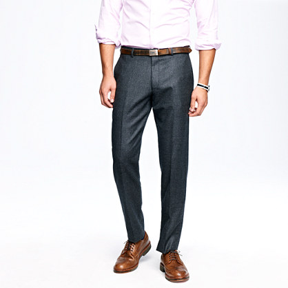 Ludlow classic suit pant in nailhead Italian wool