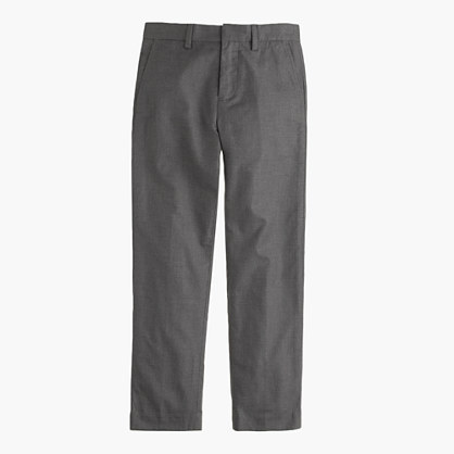 Boys' Bowery slim pant in cotton flannel