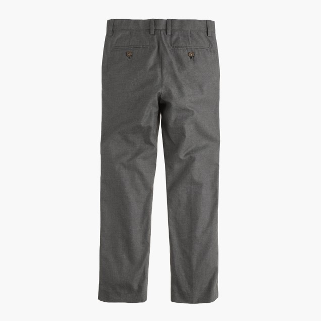 Boys' cotton flannel Bowery pant in slim fit