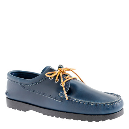 Men's Quoddy® for J.Crew Cavalier bluchers in navy