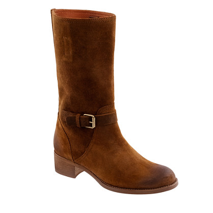Ryder suede buckle boots