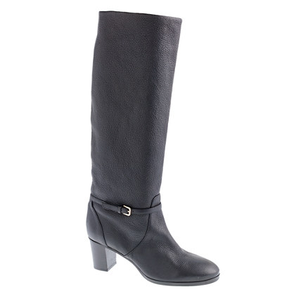 Booker midheel buckle boots with extended calf