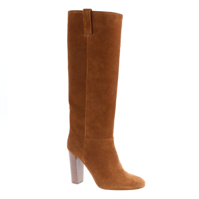 Bryce high-heel boots with extended calf