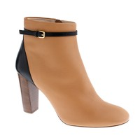 Booker high-heel buckle ankle boots