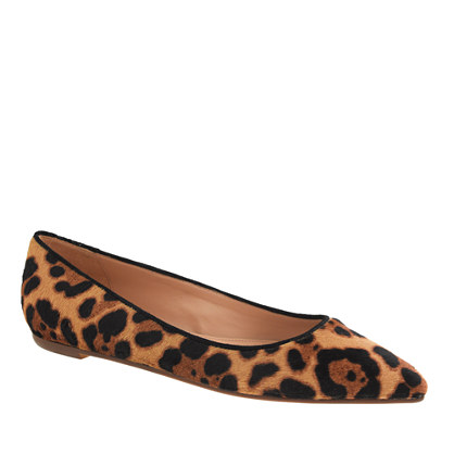 Collection Viv calf hair flats
