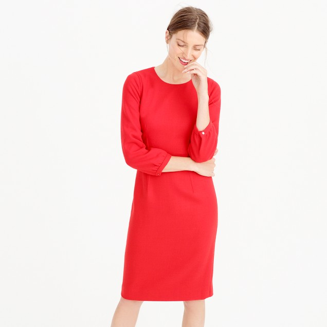 Collection Italian wool dress