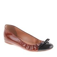 Cece patent bow ballet flats
