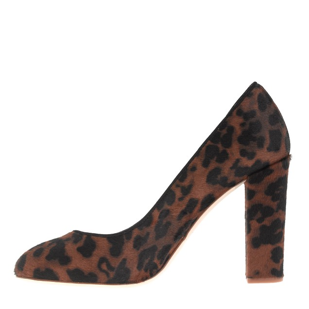 Collection Etta calf hair pumps