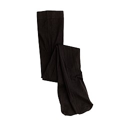 Girls' solid tights