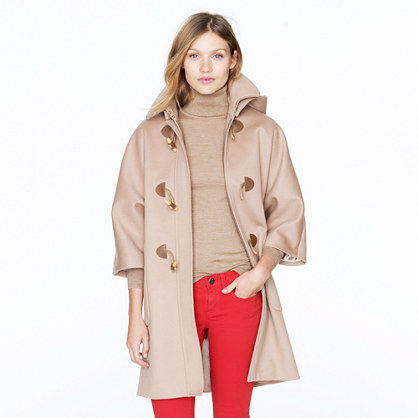 Collection toggle coat
