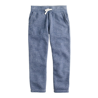 Boys' loose-knit fleece pant