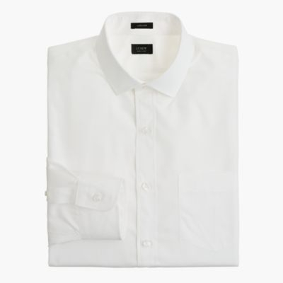 Ludlow spread-collar shirt