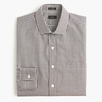 Ludlow shirt in chocolate gingham
