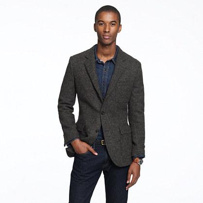 Ludlow sportcoat in Harris Tweed wool