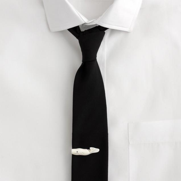 Whale tie clip