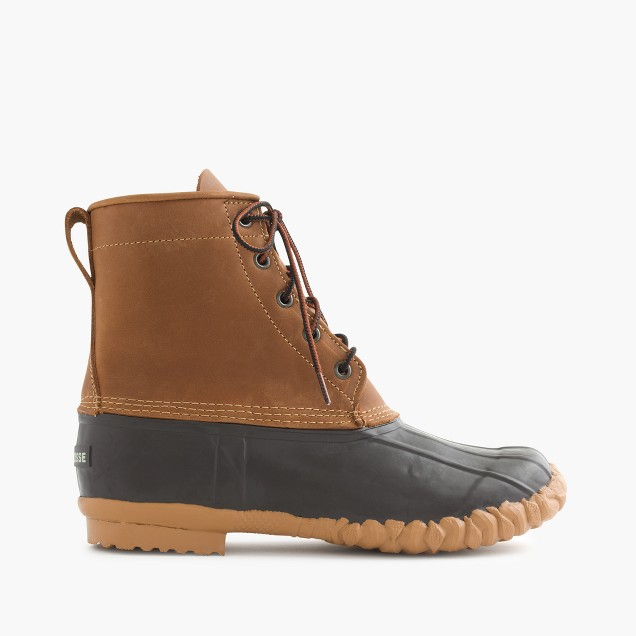 LaCrosse® for J.Crew duck boots