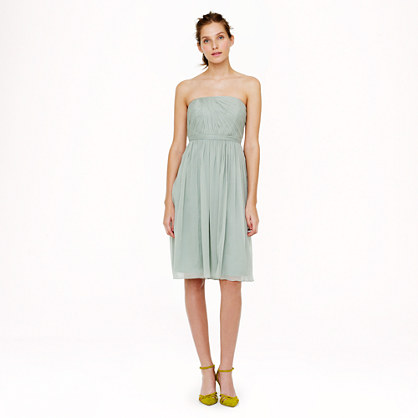 Petite Mindy dress in silk chiffon